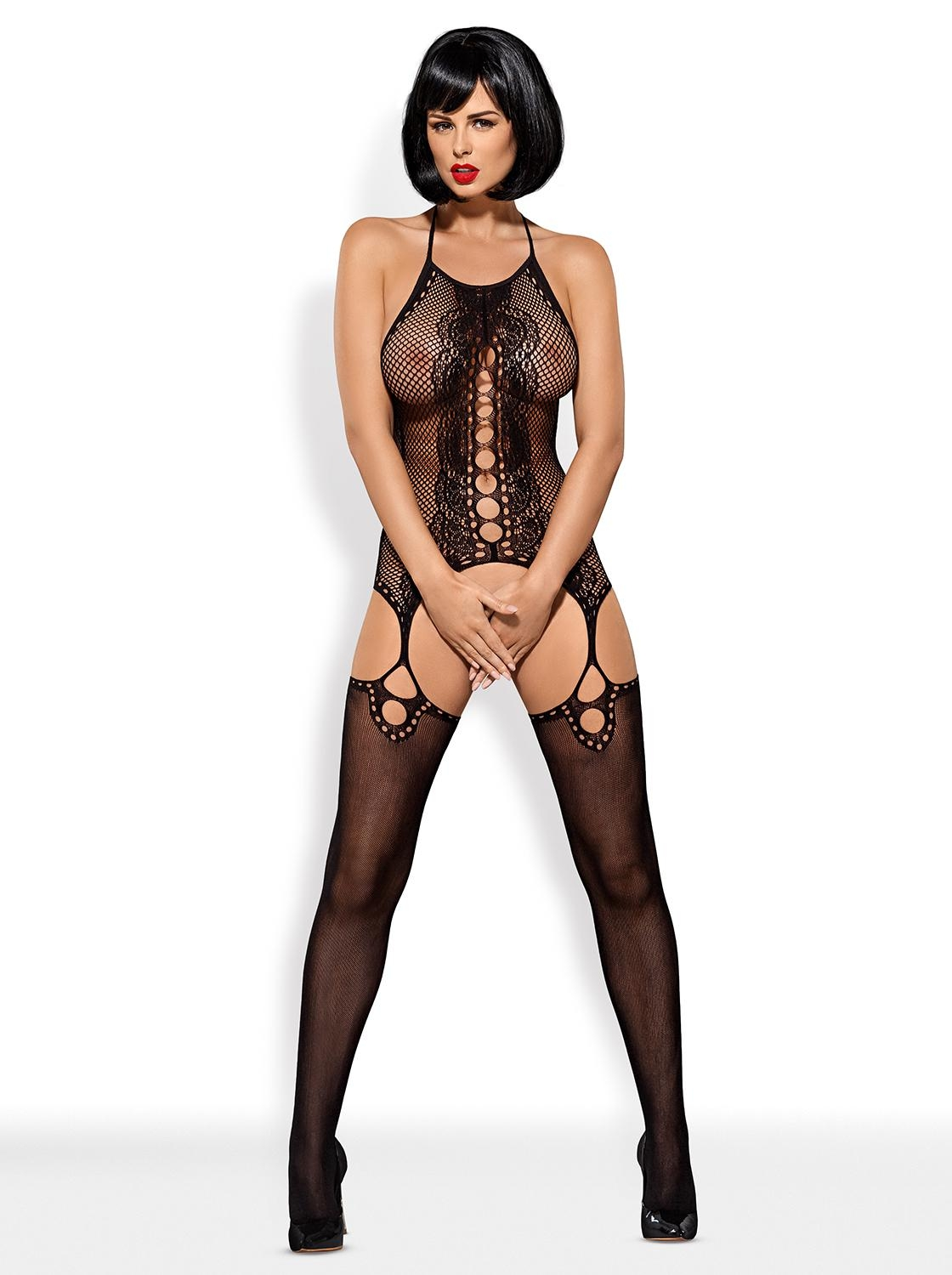 Bodystocking F220 black