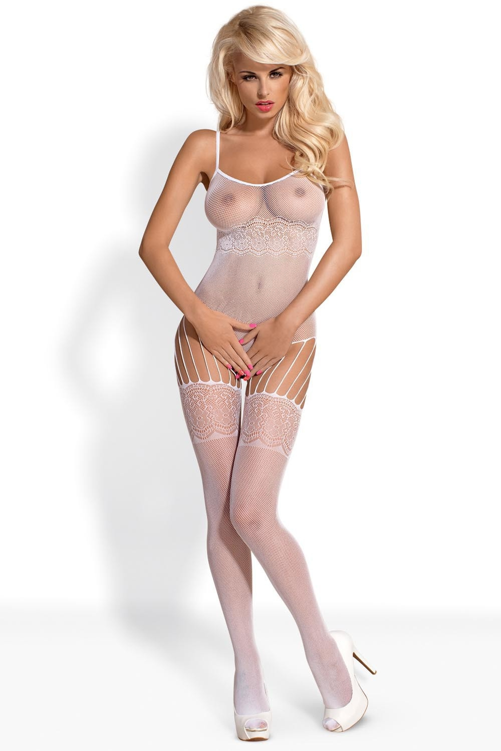 Bodystocking F207 white